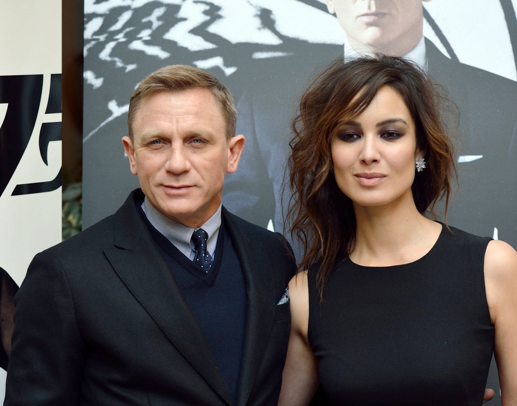Daniel Craig and Bérénice Marlohe attended a photocall for Skyfall in Paris.