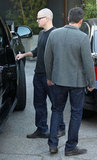 Matt Damon and Ben Affleck were out in LA.