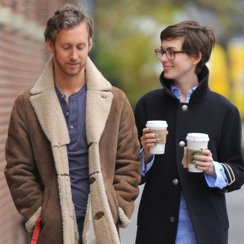 Anne Hathaway and Adam Shulman at Home in Brooklyn
