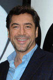 Javier Bardem posed for photos in Paris.