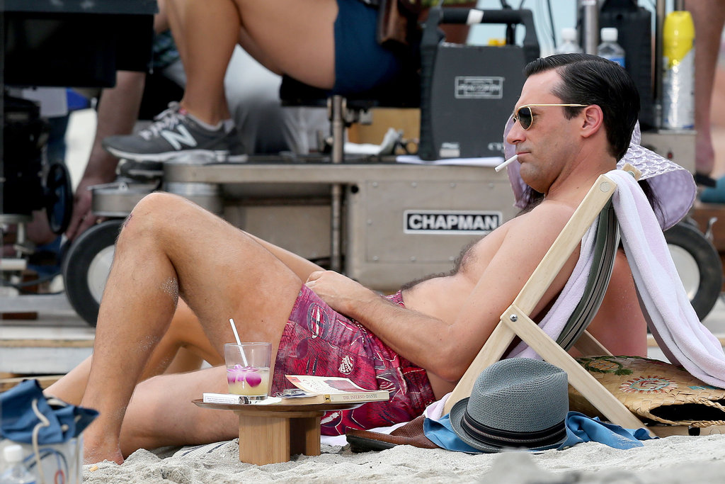 Jon Hamm filmed in Maui.