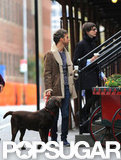 Anne Hathaway and Adam Shulman stepped out in Brooklyn.