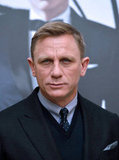 Daniel Craig promoted Skyfall in Paris.