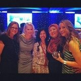 Jess snapped some ladies from MasterChef at Network 10's program launch.