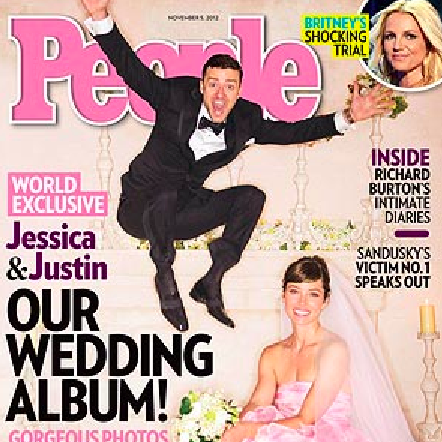 Justin Timberlake and Jessica Biel Wedding Pictures