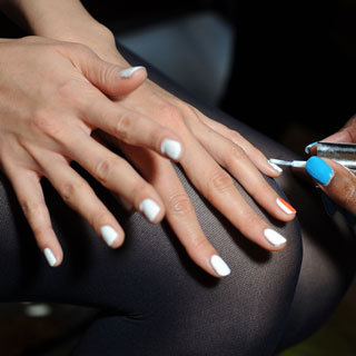 How to Fix Chipped Nails With a Half Moon Manicure