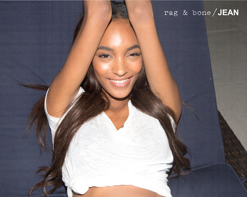 Jourdan Dunn for Rag & Bone Jean Fall 2012