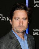 Luke Wilson made an appearance at the Samsung event.