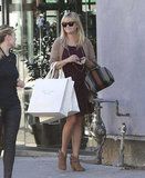 Reese Witherspoon went shopping with a friend.