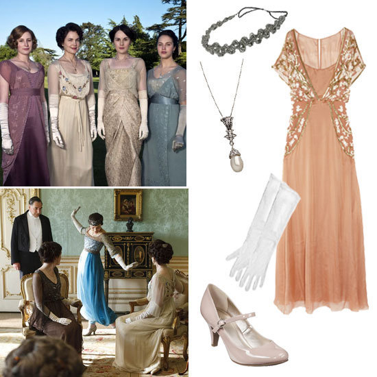 Dress properly not only for Halloween but also for dinner with a Downton Abbey-themed costume.