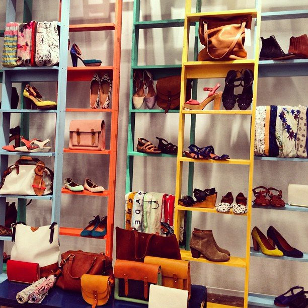 It was a game of shoes and ladders at the Madewell Spring preview!