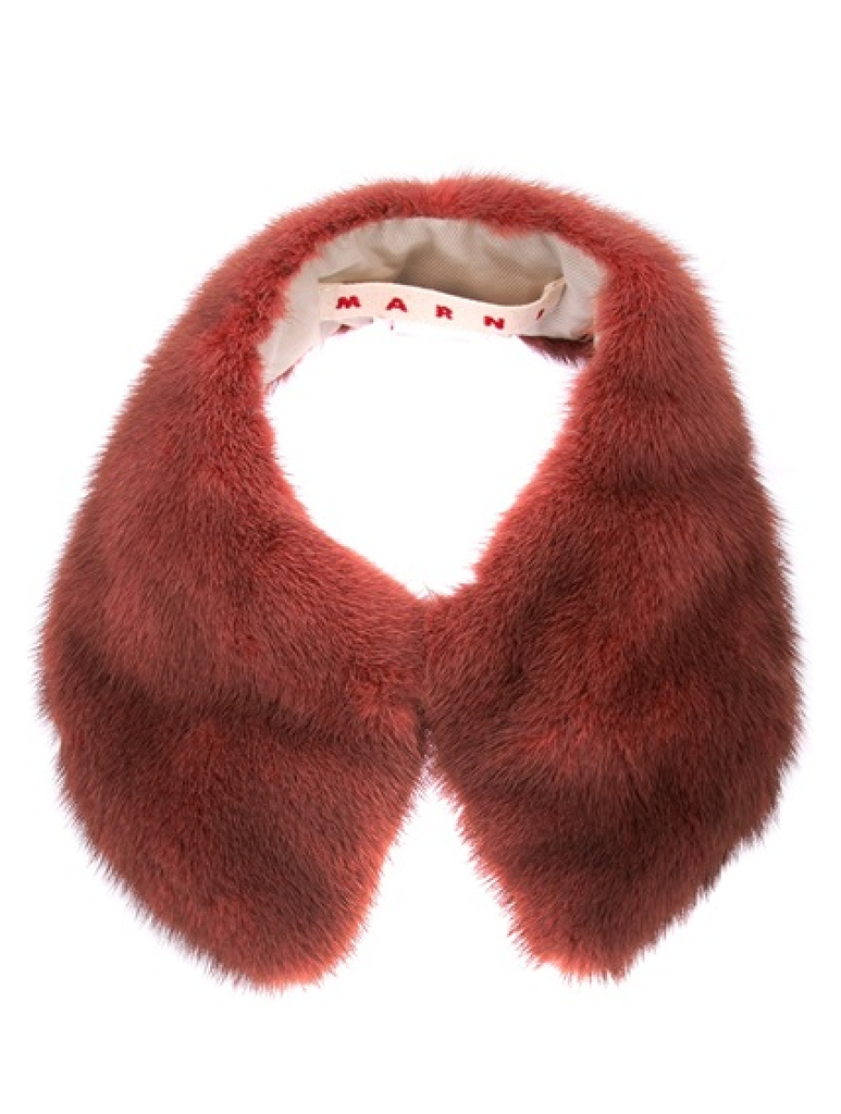This Marni Mink Fur Collar ($619) is our ultimate wish-list piece — perfectly ladylike.