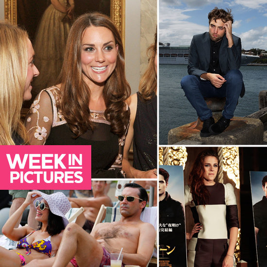 The Week in Pictures: Kate Middleton, Robert In Sydney, Kristen, Jon Hamm Shirtless & More