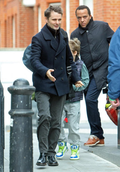 Matthew Bellamy stepped out in London.