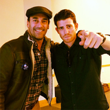 Jon Hamm and Bryan Greenberg urged Nevada voters to cast their ballots early. Source: Facebook user Obama For America