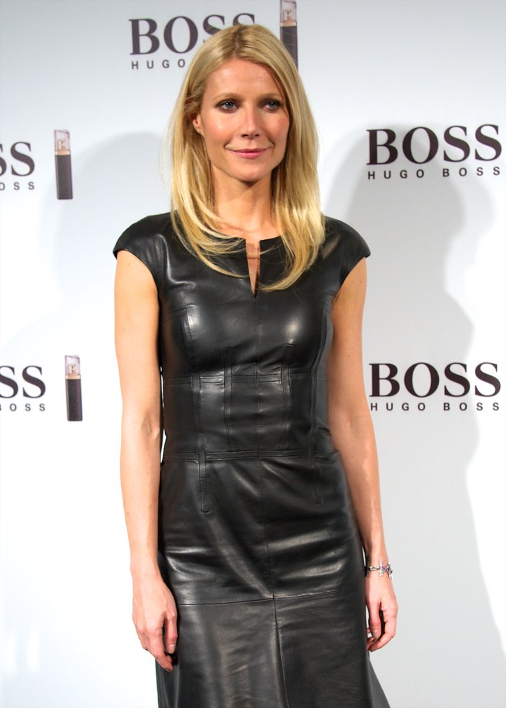 Gwyneth Paltrow launched Hugo Boss's new fragrance in Madrid.