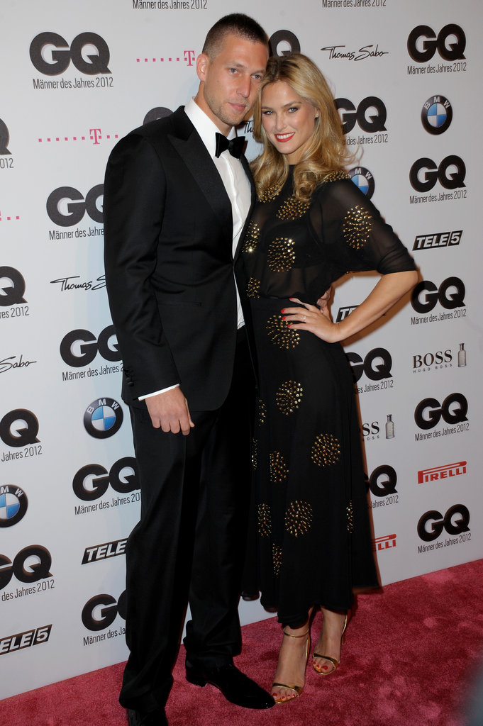 Bar Refaeli Celebrates a GQ Award With Her Brother and Shaun White