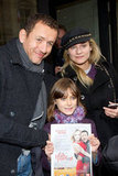 Diane Kruger and Dany Boon posed with a young fan.