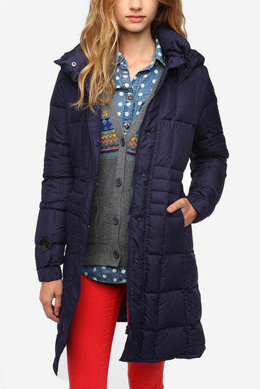 Full disclaimer: I own this Spiewak Leyden parka ($246), and that's why I feel obligated to pass on its greatness to you. It's the perfect combination of toasty puffer coat (without the bulkiness) and water-resistant.
