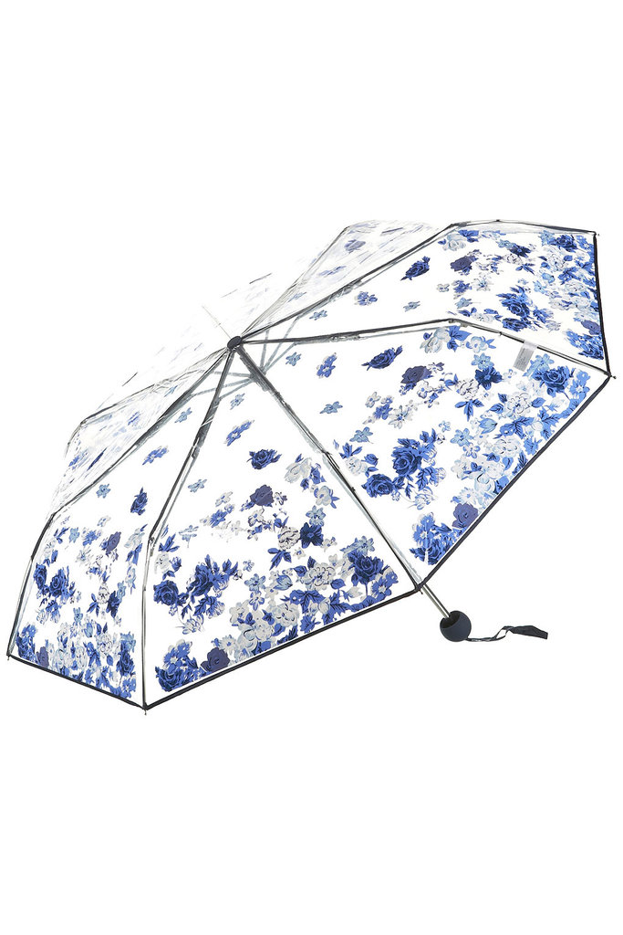 The pretty vintage-inspired floral print of this Topshop umbrella ($30) will inevitably give your wintry look a feminine edge.
