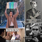 "Romney's ""Binders Full of Women"" Quote Sparks Internet Meme"