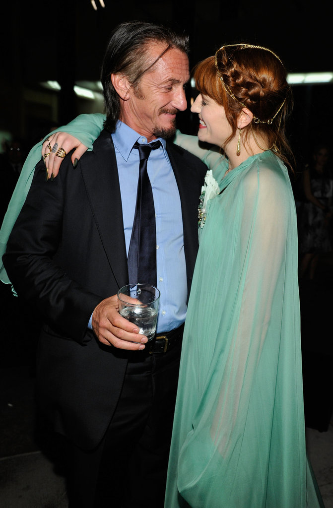 Sean Penn & Florence Welch