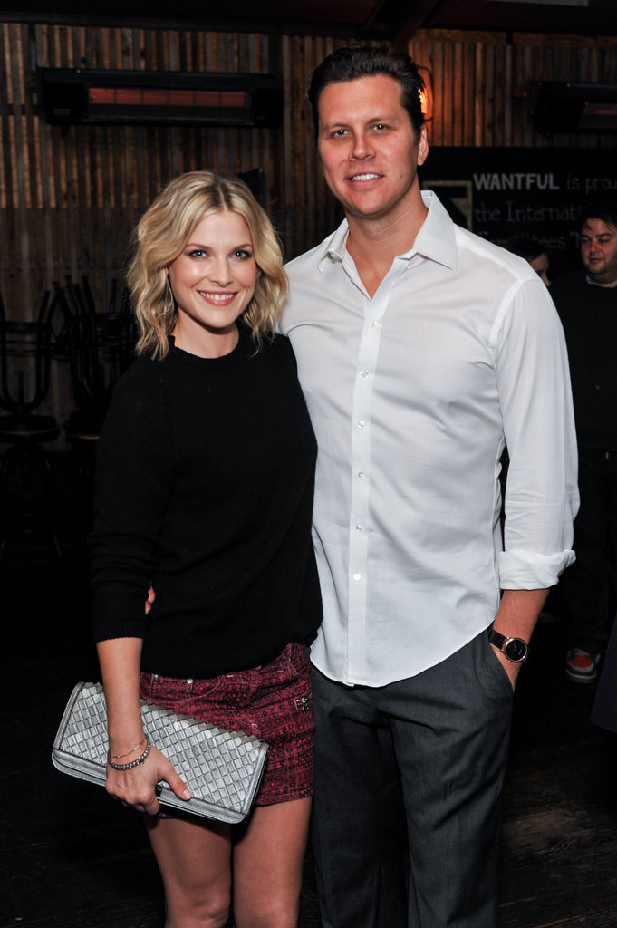 Ali Larter and her husband, Hayes MacArthur, attended the event.