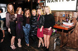 Brooklyn Decker, Amy Adams, Rashida Jones, Amy Poehler, Kristen Bell, and Ali Larter attended the Wantful: The Art of Giving event in LA.
