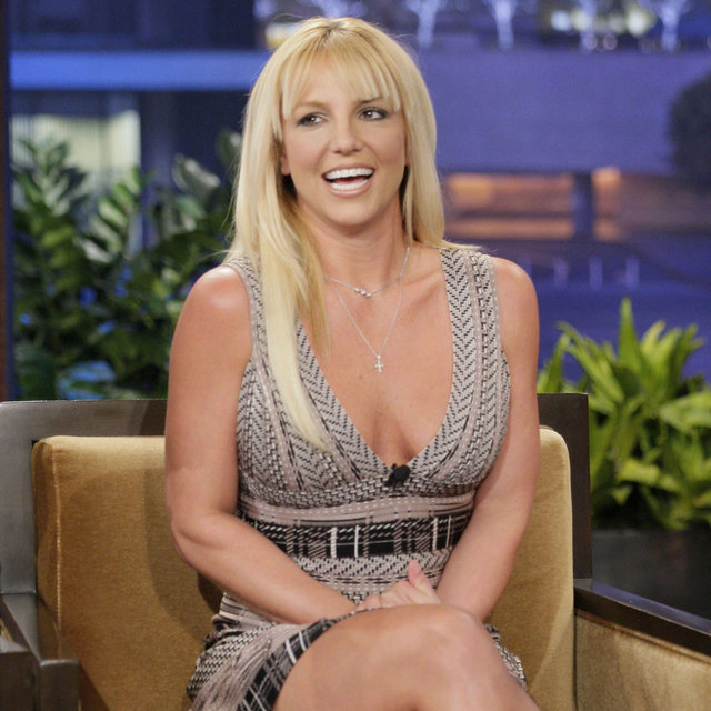 Britney Spears on The Tonight Show With Jay Leno