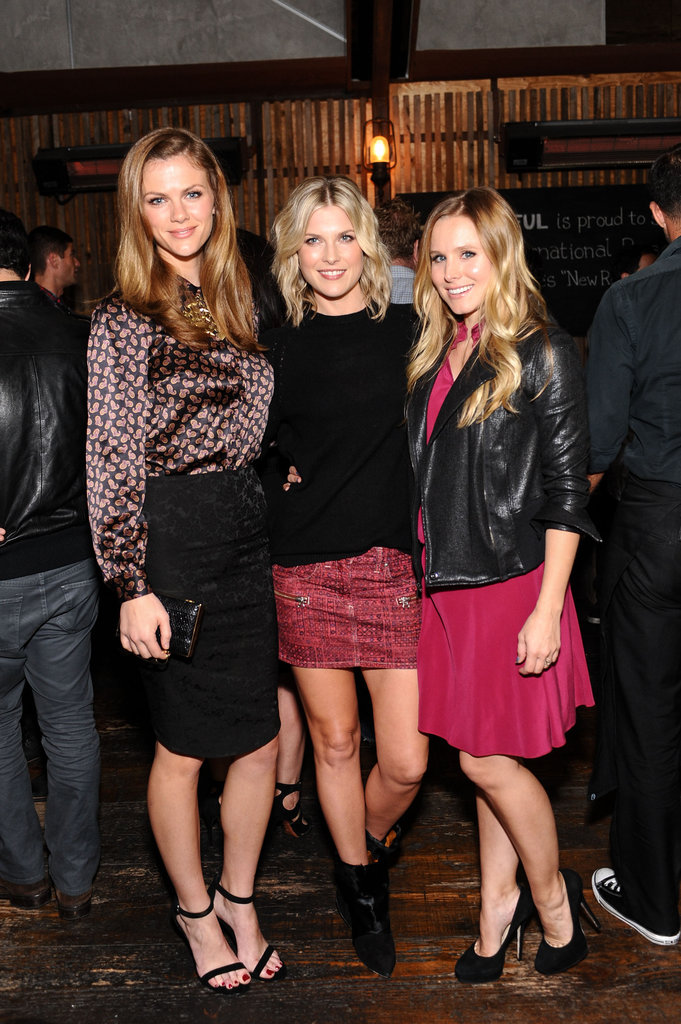 Brooklyn Decker, Ali Larter, and Kristen Bell attended the Wantful event in LA.
