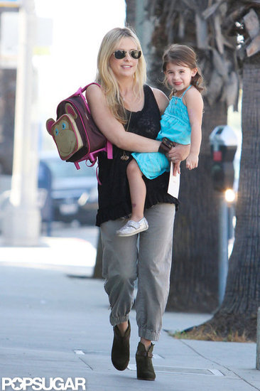 Sarah Michelle Gellar and Charlotte Prinze took a stroll in LA.