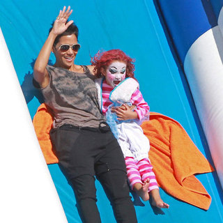 Halle Berry at a Halloween Pumpkin Patch in LA | Pictures
