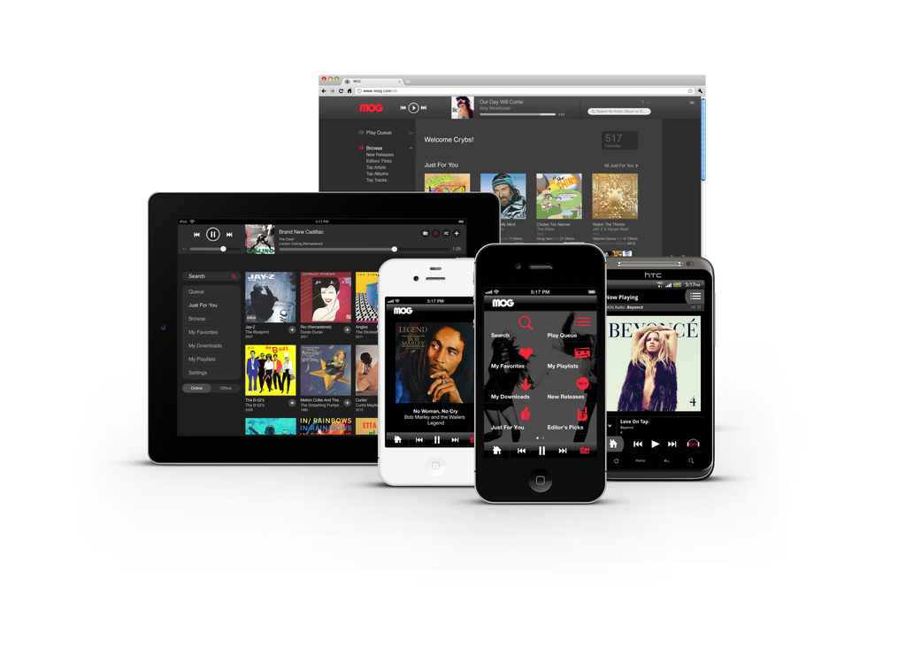 MOG: A Music Service That'll Surprise You