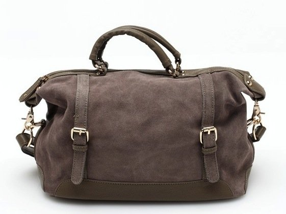 We love the slightly slouchy structure of this messenger-inspired doctor bag ($88). But it's the taupe faux leather finish that really won us over.
