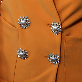 DIY Add Vintage Buttons to a Blazer | Video