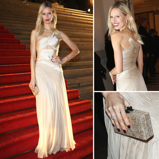 Karolina Kurkova Gives Us Some Serious Wedding Dress Inspiration
