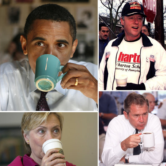 Caffeine-Fueled Campaigning Over the Years