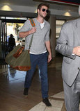 Liam Hemsworth was out in LA.