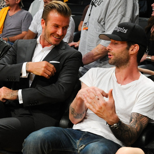 Celebrity Pictures at Lakers Season Opener Basketball Game