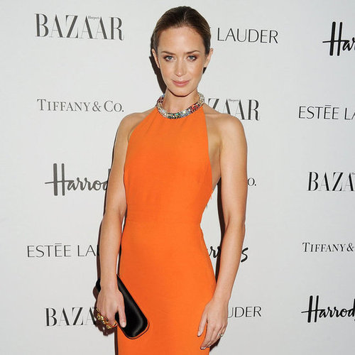 Emily Blunt Pictures at Harper's Bazaar Women of Year Awards