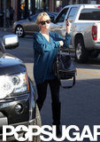 Reese Witherspoon carried a black bag in LA.
