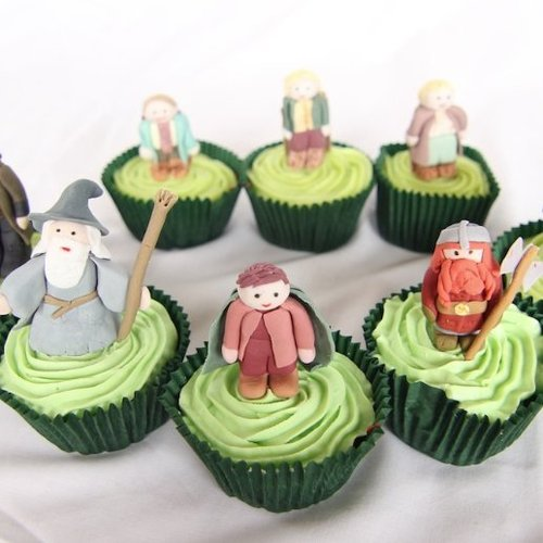 Lord of the Rings Cupcakes