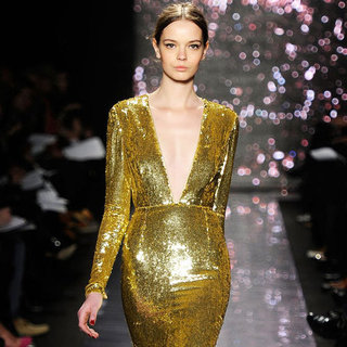 Shop Gold Dresses and Tops For Fall 2012