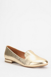 Don't these Deena & Ozzy Metallic Loafers ($29) just make you happy?