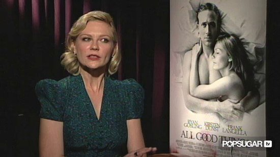 "Kirsten Dunst Loves ""Crazy"" Ryan Gosling"