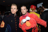 Elmo Derek Hough posed with Mark Ballas, who dressed as Elmo.
