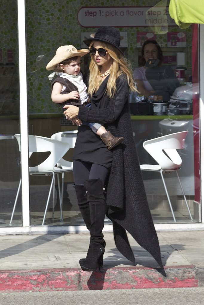 Rachel Zoe was out with Skyler Berman in Beverly Hills.