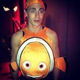Colton Haynes paid homage to Nemo. Source: Instagram user coltonlhaynes
