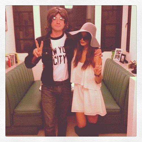 Jamie Chung and Bryan Greenberg were the perfect John and Yoko. Source: Instagram user jjchung415
