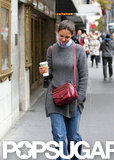 Katie Holmes was out in Manhattan.